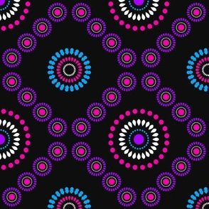 African Diamond (Purple)  - by Kara Peters