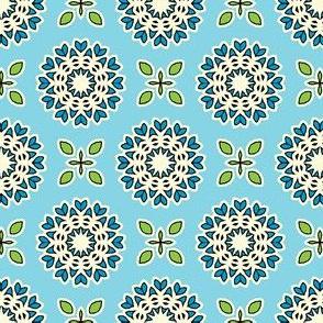 Full Bloom - Sky Blue