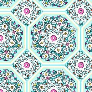 Persian Tile ~ Spring Break