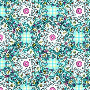 Persian Tile ~ Spring Break ~ Madras