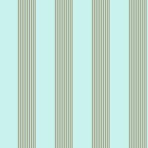 serene stripes (antique blue)
