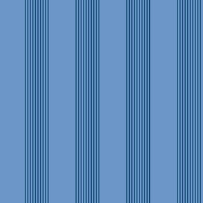 blue twilight stripes