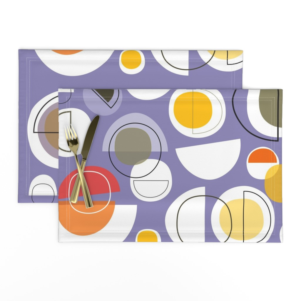 Lamona Cloth Placemats featuring winter solstice by kurtcyr