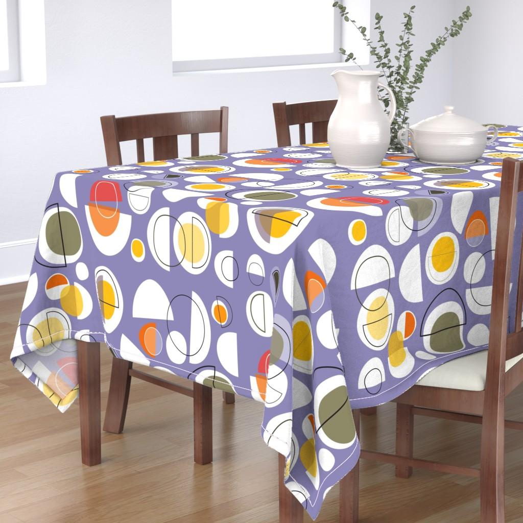 Bantam Rectangular Tablecloth featuring winter solstice by kurtcyr