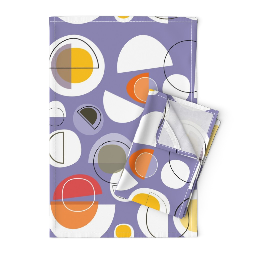 Orpington Tea Towels featuring winter solstice by kurtcyr