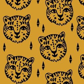 Tiger Face - Saffron