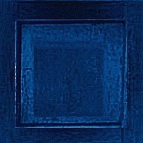 Blue Police Box Panels Square Geometric Blocks