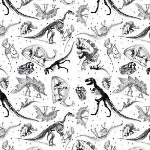 Dinosaur Tea Towel Calendar