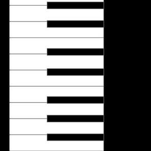 02255114 : piano keyboard border