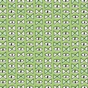 Eye Bow Tie   Green