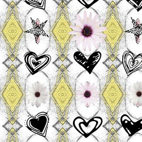 Diamond Charm Flower Doddle