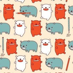 Happy Bears Take Note