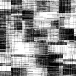 Black and White Texture Geometric