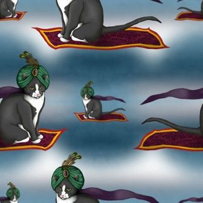 Magic Carpet Cat
