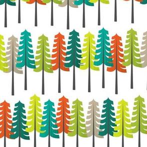 Colorful Woodland - Large