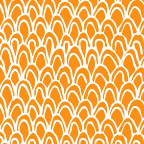 Horizontal Orange Scale
