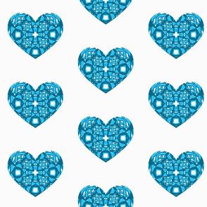 Daisy Chain - Heart Print