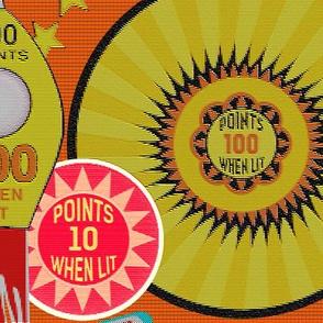 Pinball Wizard in Orange - LARGE