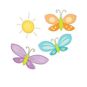 Sunny Butterflies