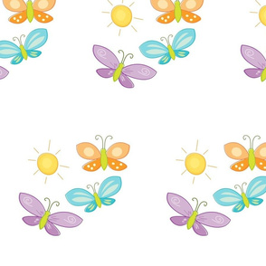 Sunny Butterflies-Trio