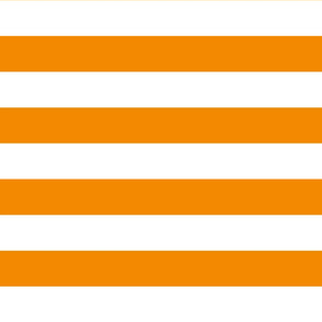 Wide Orange stripes