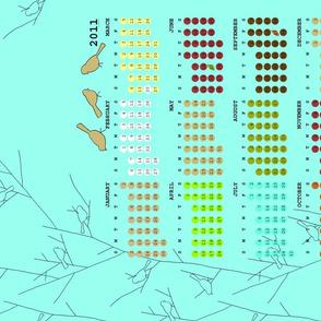 2011 Little Birds Calendar -FQ