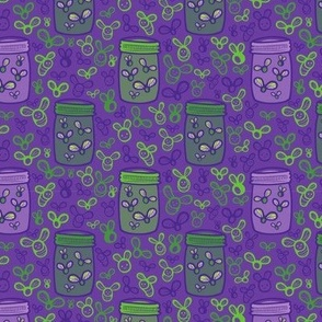 Jar of Lights Purple - Small Version