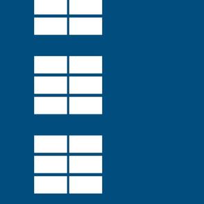 Phone box windows border print