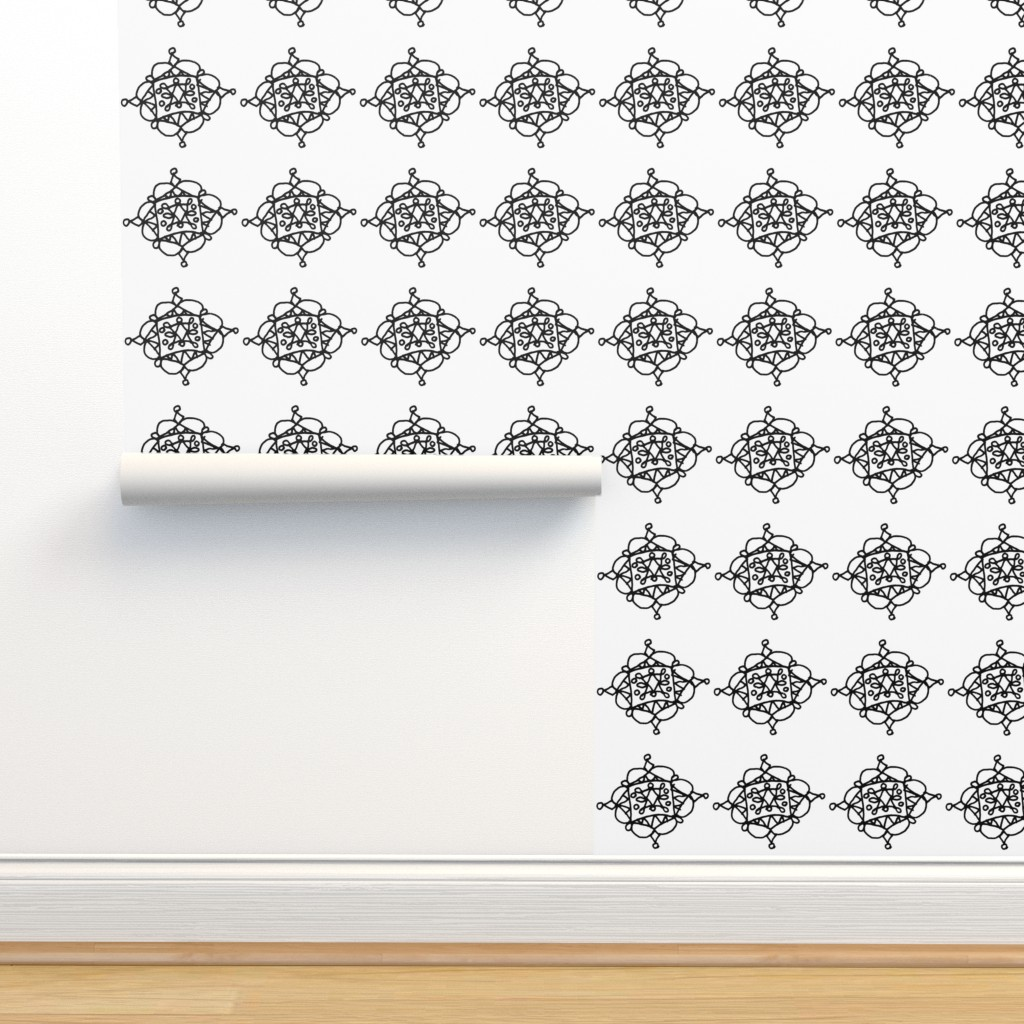 Isobar Durable Wallpaper featuring Mystic Shape - Big by designergal