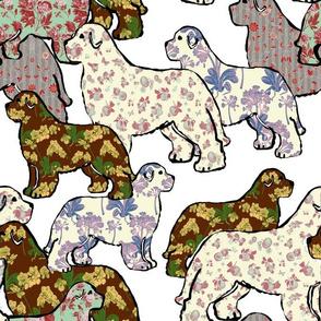 Newfoundland Dog Whimsy