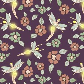 Fairy fireflies