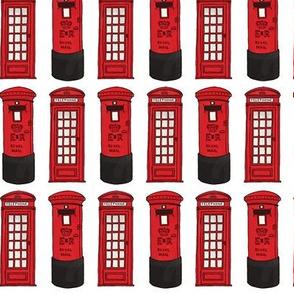London Calling post box phone box
