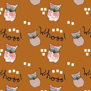 Fall Things: Little Striped Hoot Owls