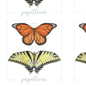 Papillions Night - Song Pillow Set