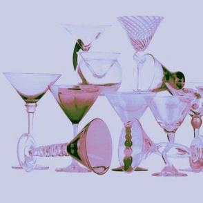 Lavender Cocktails two