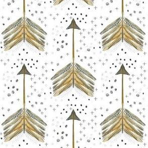 Watercolor Arrows in Neutrals
