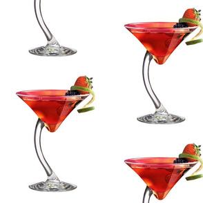 Strawberry Martini Cocktail