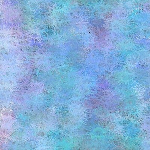 Watercolor Splatter Blue and Purple