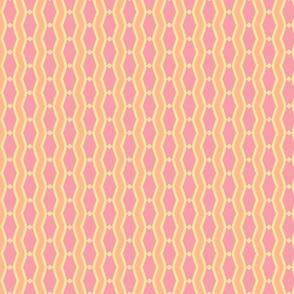 mod wallpaper 202-(blush, sunshine, tangerine