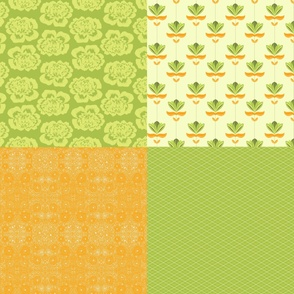 Boquet Fat Quarter Set