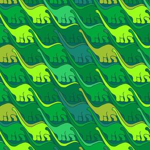 Apatosaurus on the Move