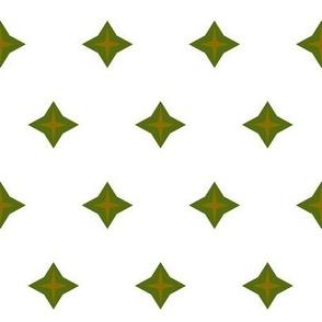 Diamond star-olive