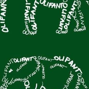 Olifant Calligram 1