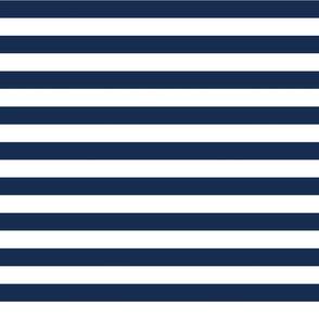 Navy Cabana Stripes