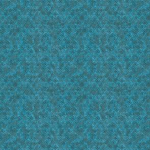 Burlap in blue