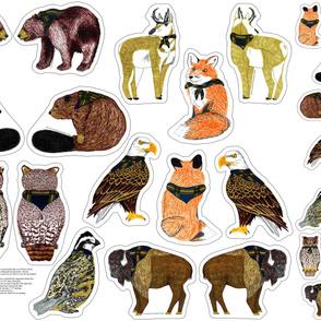 Wood Badge Critter Plushies