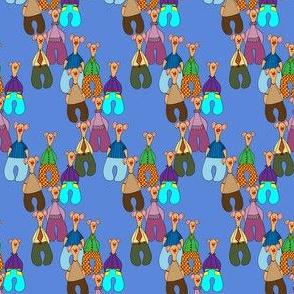 Bears on blue 2