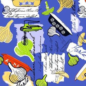 Julia's Kitchen - Blue