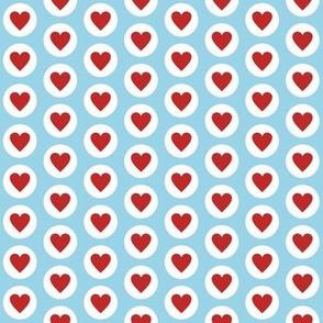 Fresh Polka Hearts Small Scale