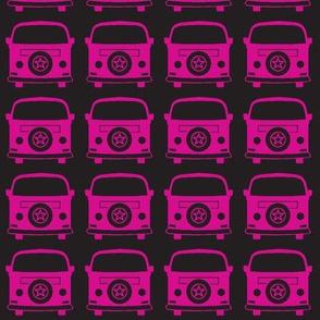 camper pink black